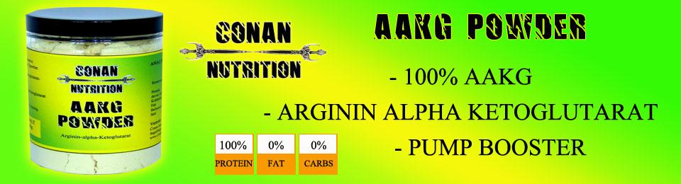 CONAN NUTRITION AAKG POWDER