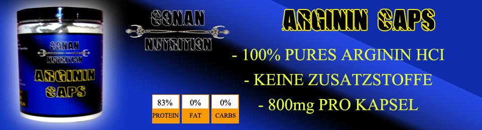 CONAN NUTRITION Arginin Caps