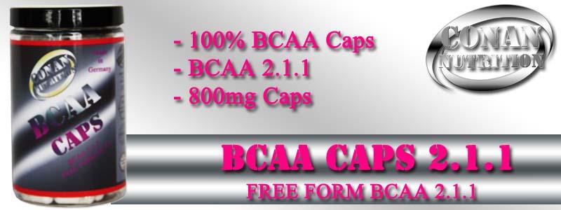 Conan Nutrition BCAA CAPS Banner