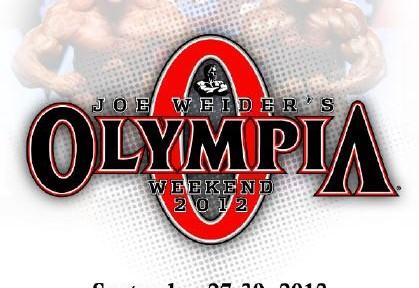 Mr.Olympia 2012