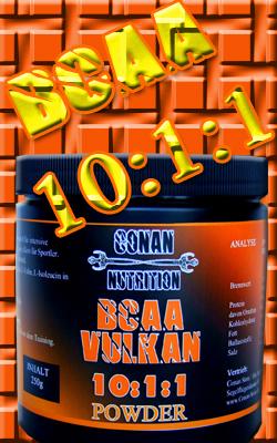Conan Nutrition BCAA Vulkan Powder Banner klein