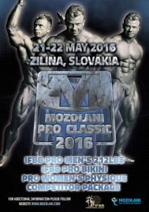IFBB Mozolani Pro 2016