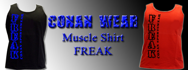 Conan Wear Athletic Vest Freak banner