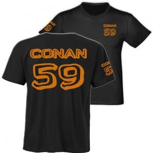 Conan Wear American shirt schwarz-b