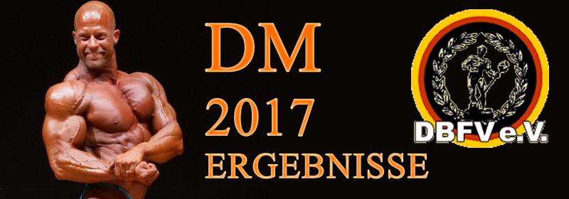 DM 2017 Ergebnisse
