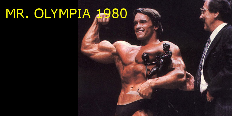 Mr olympia 1980 Banner