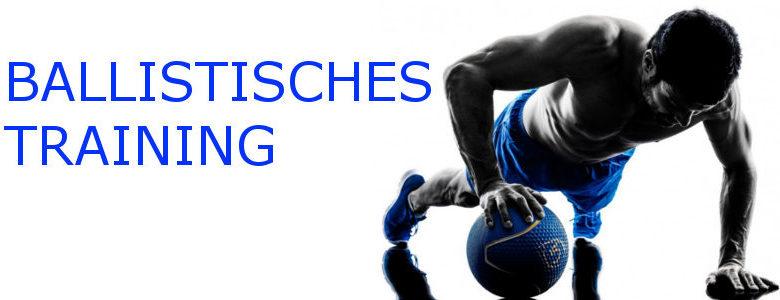 Ballistisches Training banner