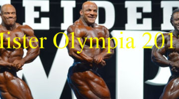 Mr olympia 2017 banner