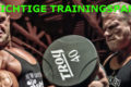der richtige trainingspartner