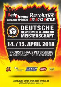 Deutsche Newcomer- und Jugend-Meisterschaft 2018