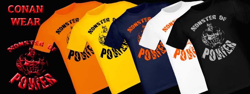 T-Shirt Monster of Power