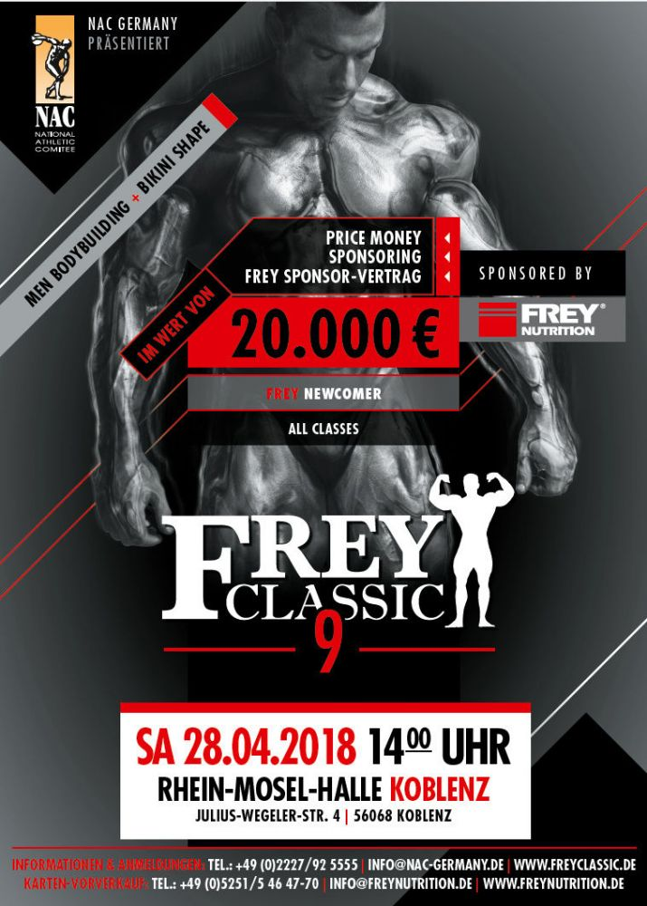 Frey Classic Newcomer & Frey Classic Pro 2018
