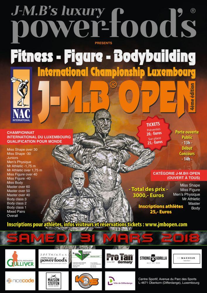 J-M.B Open 2018