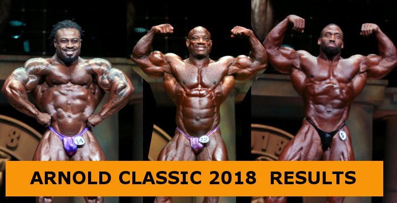 Arnold Classic 2018 Banner