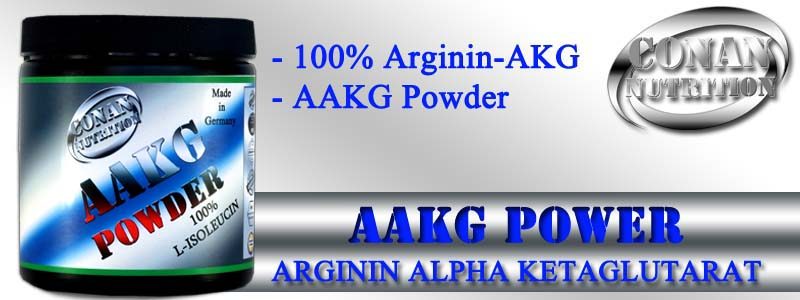Conan Nutrition AAKG POWDER Banner