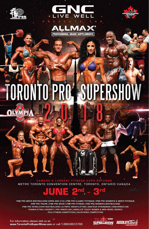 Toronto Pro Supershow 2018