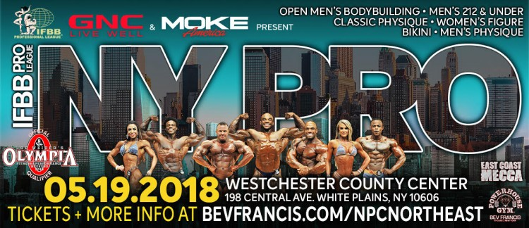 new york pro 2018