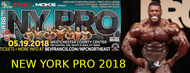 NEW YORK PRO 2018 BANNER