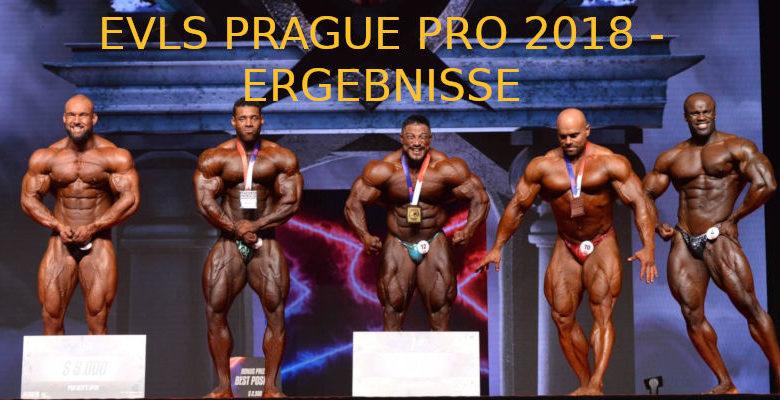 EVLS PRAGUE PRO 2018 - ERGEBNISSE