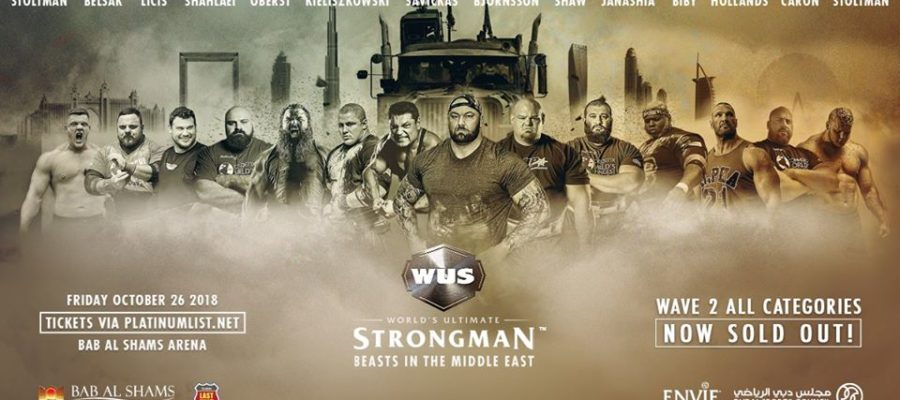 world ultimate strongman 2018