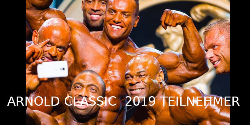 Arnold Classic 2019 Teilnehmer
