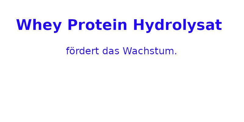 Whey Protein Hydrolysat