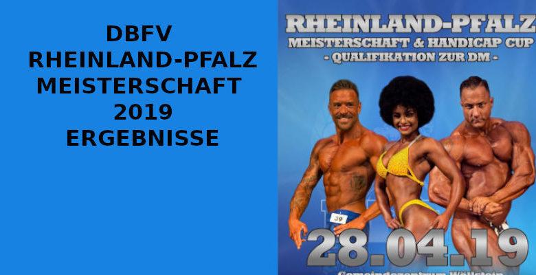 DBFV RHEINLAND-PFALZ MEISTERSCHAFT 2019