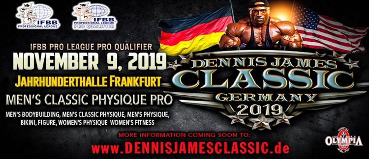 Dennis James Classic Germany 2019