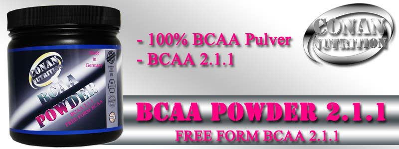Conan Nutrition BCAA POWDER Banner