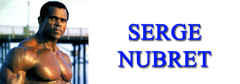 Serge Nubret Banner