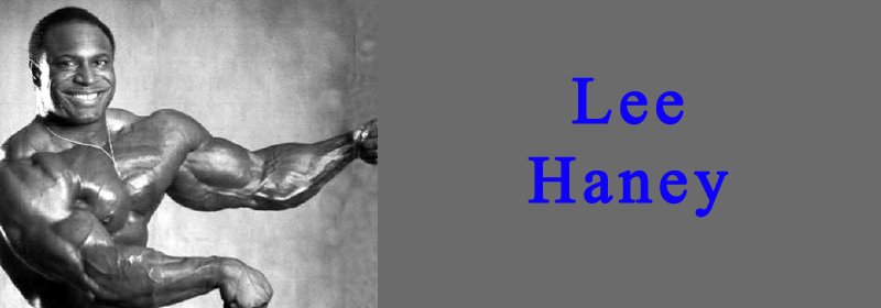 lee Haney Banner