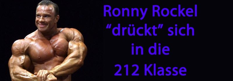 Ronny Rockel drückt sich in die 212 Klasse