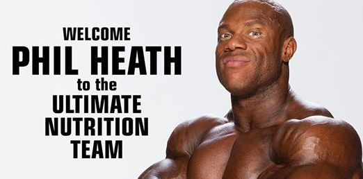 Ultimate Nutrition Phil Heath