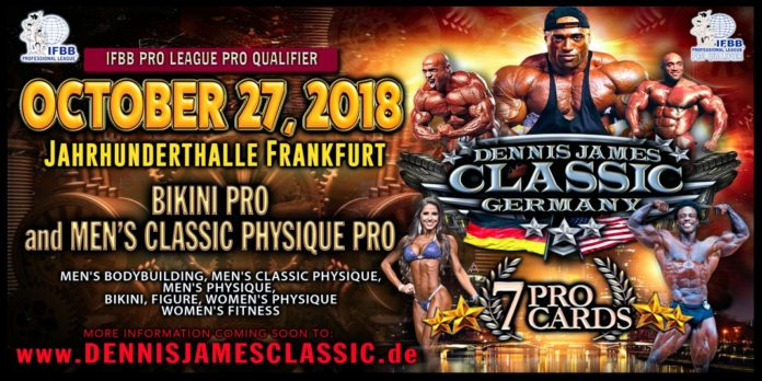DENNIS JAMES CLASSIC 2018