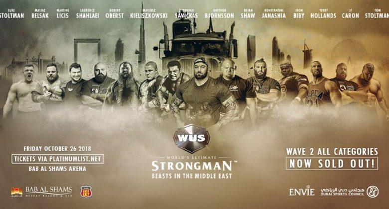 world ultimate strongman 2018