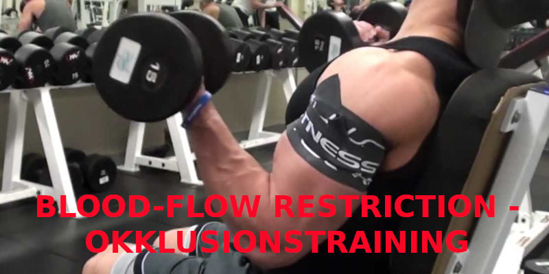 BLOOD-FLOW RESTRICTION - OKKLUSIONSTRAINING