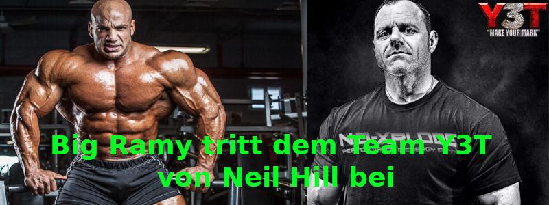 Big Ramy tritt dem Team Y3T von Neil Hill bei