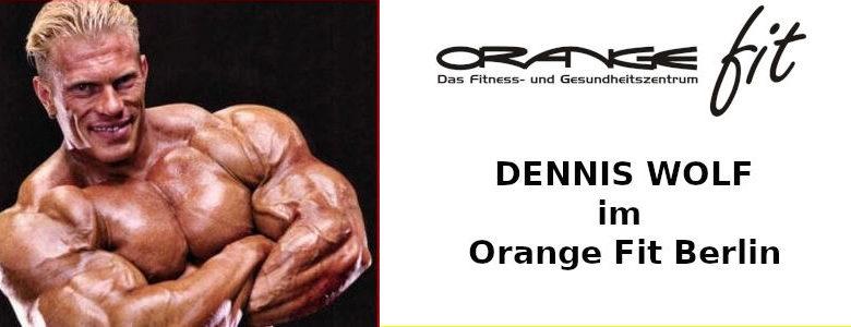 Dennis Wolf orange fit