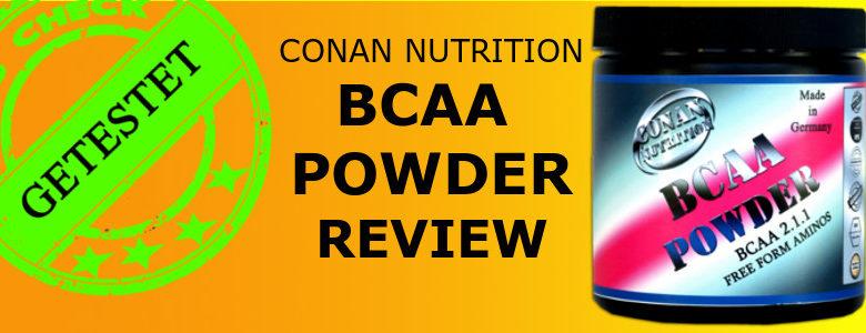 CONAN NUTRITON BCAA POWDER REVIEW