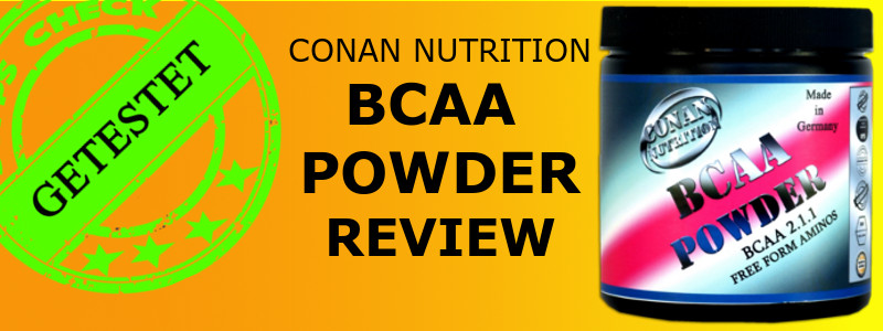 CONAN NUTRITON BCAA POWDER REVIEW