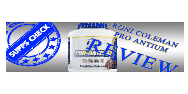 RONNIE COLEMAN PRO ARTIUM REVIEW