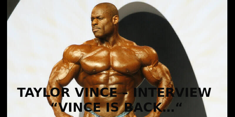 "TAYLOR VINCE – INTERVIEW "" VINCE IS BACK…"""