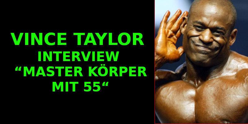 VINCE TAYLOR – INTERVIEW – MASTER KÖRPER MIT 55