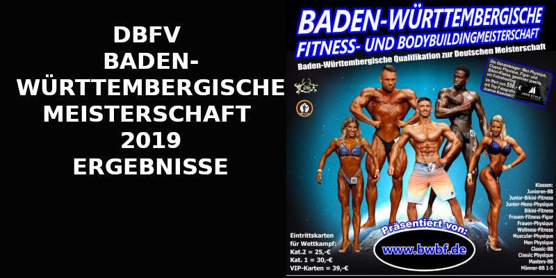 DBFV BADEN-WÜRTTEMBERGISCHE MEISTERSCHAFT 2019 BANNER
