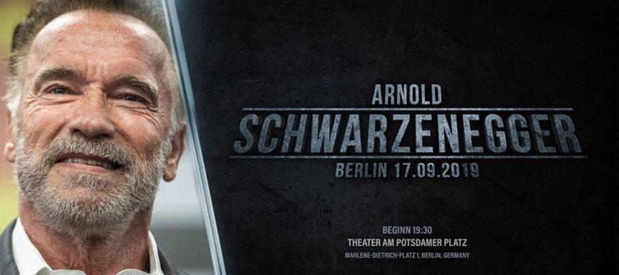 arnold schwarzenegger in Berlin