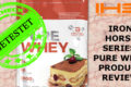 IRON HORSE SERIES – PURE WHEY – COCONUT – PRODUKT REVIEW