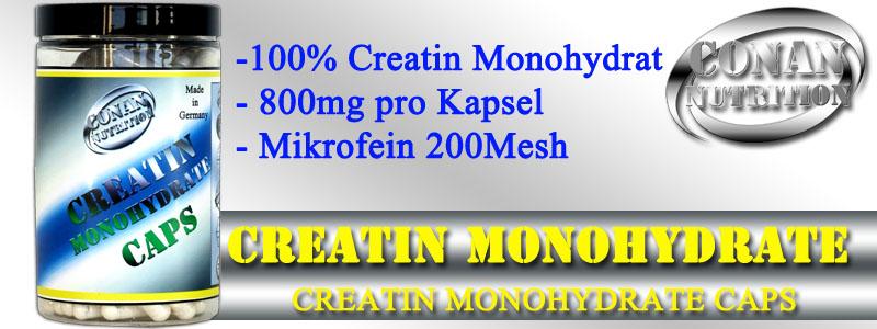 Conan Nutrition CREATIN MONOHYDRATE