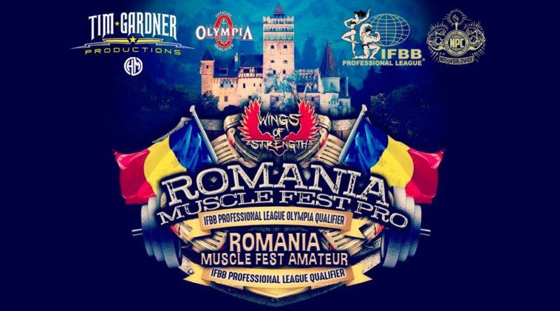 ROMANIA MUSCLE FEST PRO 2019