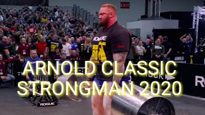 ARNOLD CLASSIC STRONGMAN 2020