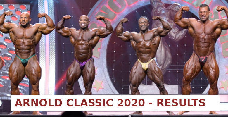 ARNOLD CLASSIC 2020 - RESULTS